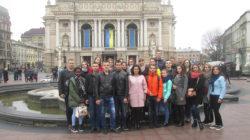 Студенти-першокурсники у місті Львові