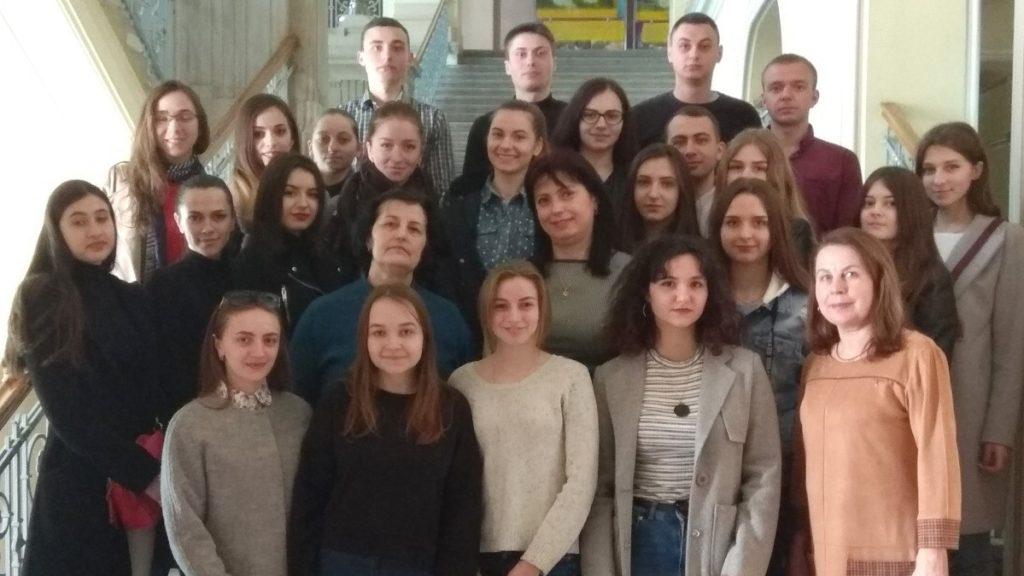 Зустріч студентів-обліковців з посадовцями Чернівецької ОДА