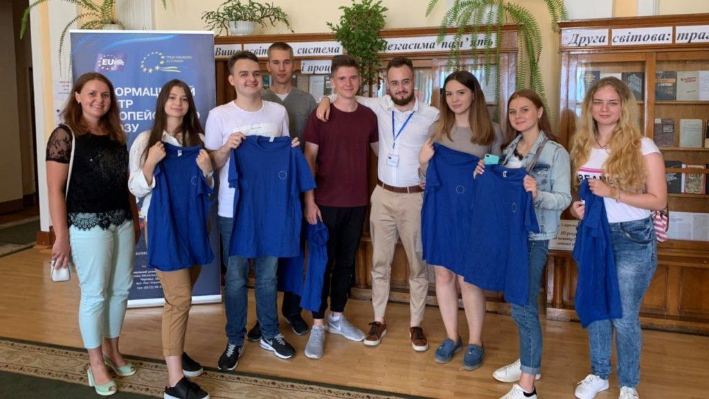 Участь студентів факультету у грі «Eurosession» для молоді